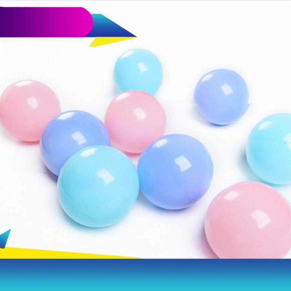 25Pcs/Set Kids Ocean Ball Toy 5.5cm Soft Colorful Eco-friendly Plastic Ocean Ball Crush Proof Baby Kids Swim Pit Toy Baby Toys