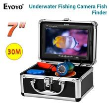"""Eyoyo CR110-7L 1000 ТВЛ цветная подводная камера для рыбалки инфракрасный ИК светодиодный """" дюймовый видео монитор рыболокатор камера для подледной рыбалки"""