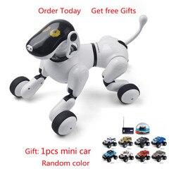 Draadloze Afstandsbediening Slimme Hond Elektronische Huisdier Educatief Speelgoed Robot Verjaardagscadeau Mode Speelgoed Voor Kinderen Robot Hond