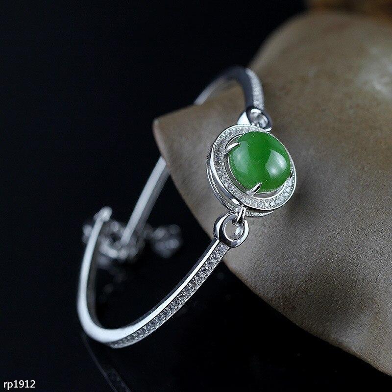 KJJEAXCMY Boutique jewelry Jewelry Wholesale Hotan Jasper Frontline Fashion Only Beauty S925 Bracelet