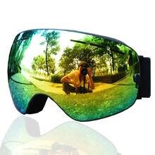 Новые профессиональные лыжные очки для сноуборда мужчин и женщин