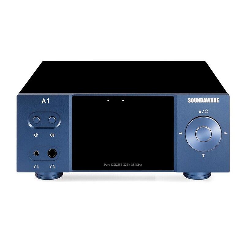 Soundaware A1 lecteur réseau de bureau en Streaming avec télécommande platine numérique amplificateur de décodage Roon prêt à l'emploi pris en charge