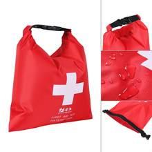Sac de premiers secours étanche, Kit d'urgence pour voyage, Camping, kayak rouge, canoë, Trekking, Rafting, 1,2 l