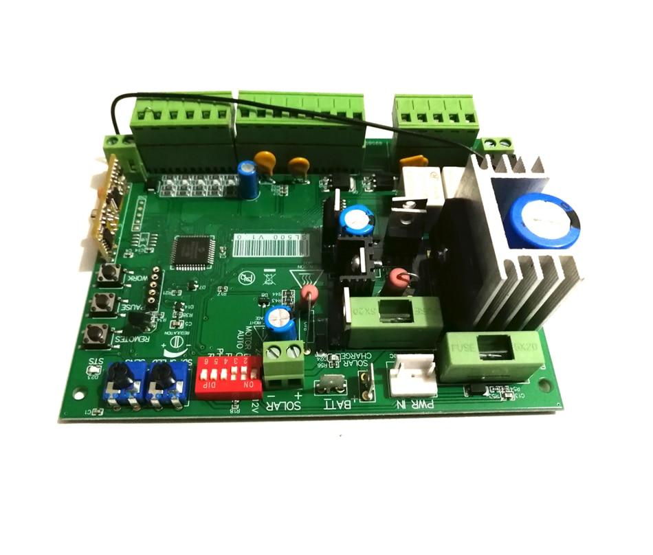 12VDC Avidsen Sliding Gate Opener Motor Electronic Card Circuit Board Controller For Auto Electric Sliding Gate Opener