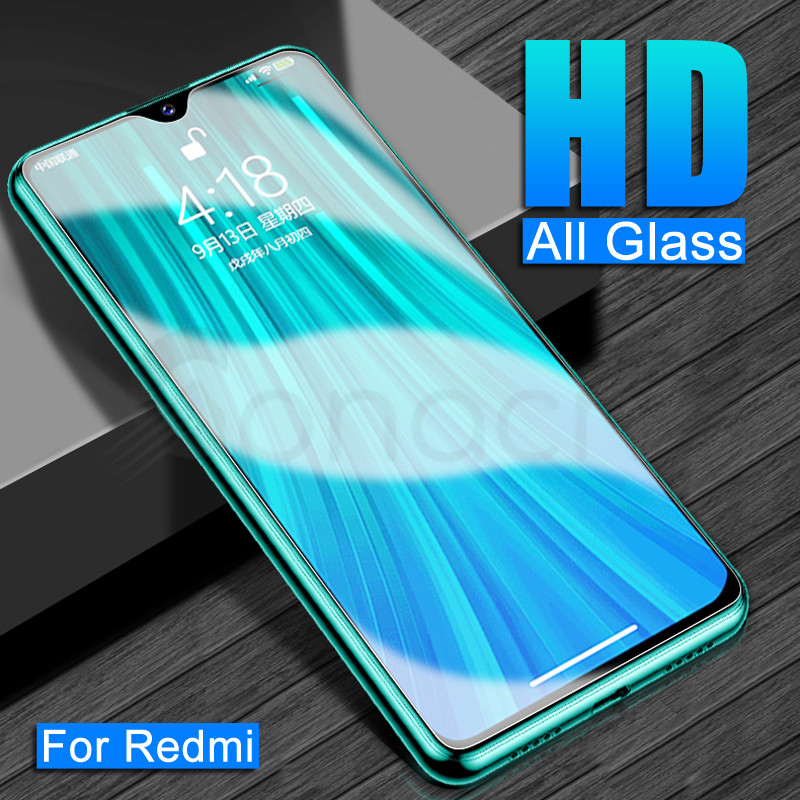 9H Tempered Glass For Xiaomi Redmi Note 8 7 6 Pro 8T Screen Protector Protective Glass Redmi 8 8A 7 7A K30 6A 6 Pro Glass Film