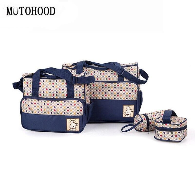 Dot Baby Nappy Diaper Change Bags Mummy zipper Shoulder Handbag Stroller New