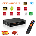 GTMEDIA GTT2 Android 6.0 Android TV BOX DVB T2/Kabel/ISDBT/ATSC C 2GB 8GB mit wifi antenne Internet Unterstützung IPTV Sport kanäle-in Satelliten-TV-Receiver aus Verbraucherelektronik bei
