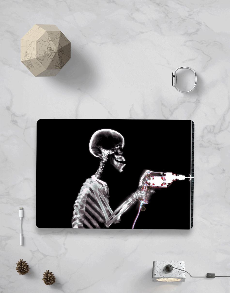 MTT black Skeleton Case for MacBook 7