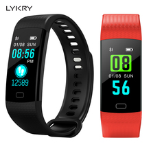 LYKRY Y5 Smart Watch Band Heart Rate Blood Pressure Monitor High Brightness Color Screen Bracelet android IOS