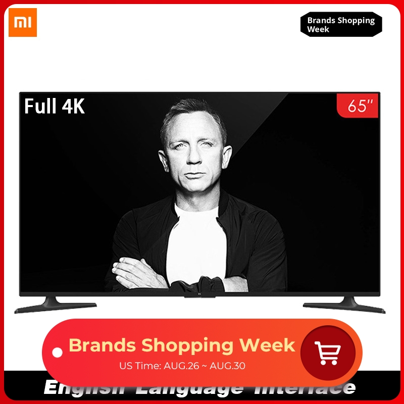 Xiaomi Screen-Tv-Set Display Rom-Game Dolby HDMI 65-Inches Smart-4a Full-4k FHD 8GB WIFI
