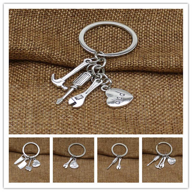 New Tool Pendant Keychain, Dad Keychain, Father's Day Gift Keychain, Father Keychain Accessories