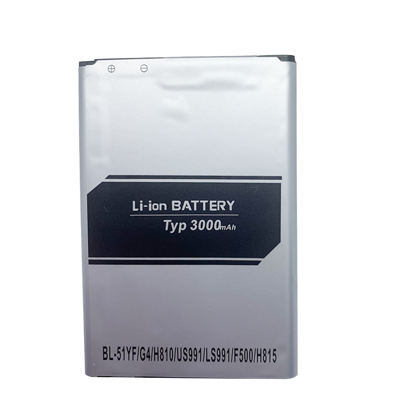 1pc 3800mAh Rechargeable Li-Ion Battery For LG BL-51YF G4 H540 G4 Stylus H630 H634 H635 H740 H810 H811 H815 H818N F500 K600 X19