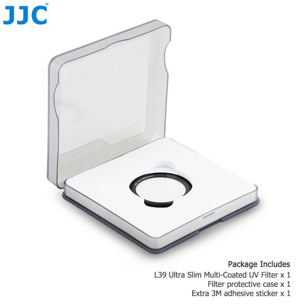 JJC L39, filtro UV multicapa Ultra delgado para Ricoh GR III GR II GR3 GR2 GRIII GRII, cámaras de cristal óptico, filtros de objetivo de cámara