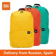 Xiaomi 10l mochila saco à prova dwaterproof água colorido lazer esportes tamanho pequeno pacote de peito sacos unissex para homens mulher criança mochila