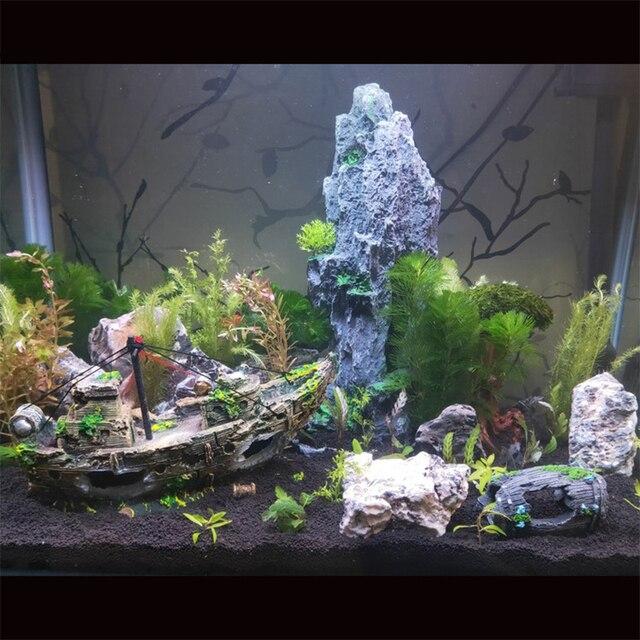 Sunken Pirate Shipwreck Aquarium Landscaping  6