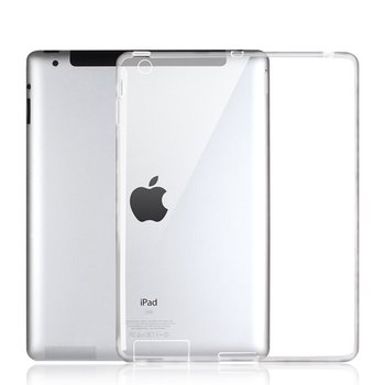 for iPad 2 3 4 Case , Ultra-thin Silicone Back Cover Clear Soft TPU Skin Case Protector Capa for fund iPad 2 case ipad 4 cases enkay clear 9 7 screen guard protector for ipad 2 the new ipad ipad 4