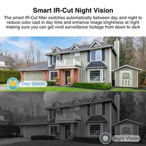 Image 5 - Techage 1080P 48V POE IP Camera Onvif Security CCTV Surveillance Camera 2MP Outdoor IR Night Vision HD Camera for POE System P2P