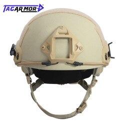 Norme américaine NIJ IIIA militaire aramide casque pare-balles casque de Combat tactique casque balistique rapide