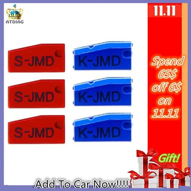 رقاقة أصلية JMD KING لحقائب الأطفال اليدوية نسخة مفاتيح السيارة استبدال JMD 4C / 4D / 42/46/48 / 72 جرام 5 10 قطعة/الوحدة JMD King