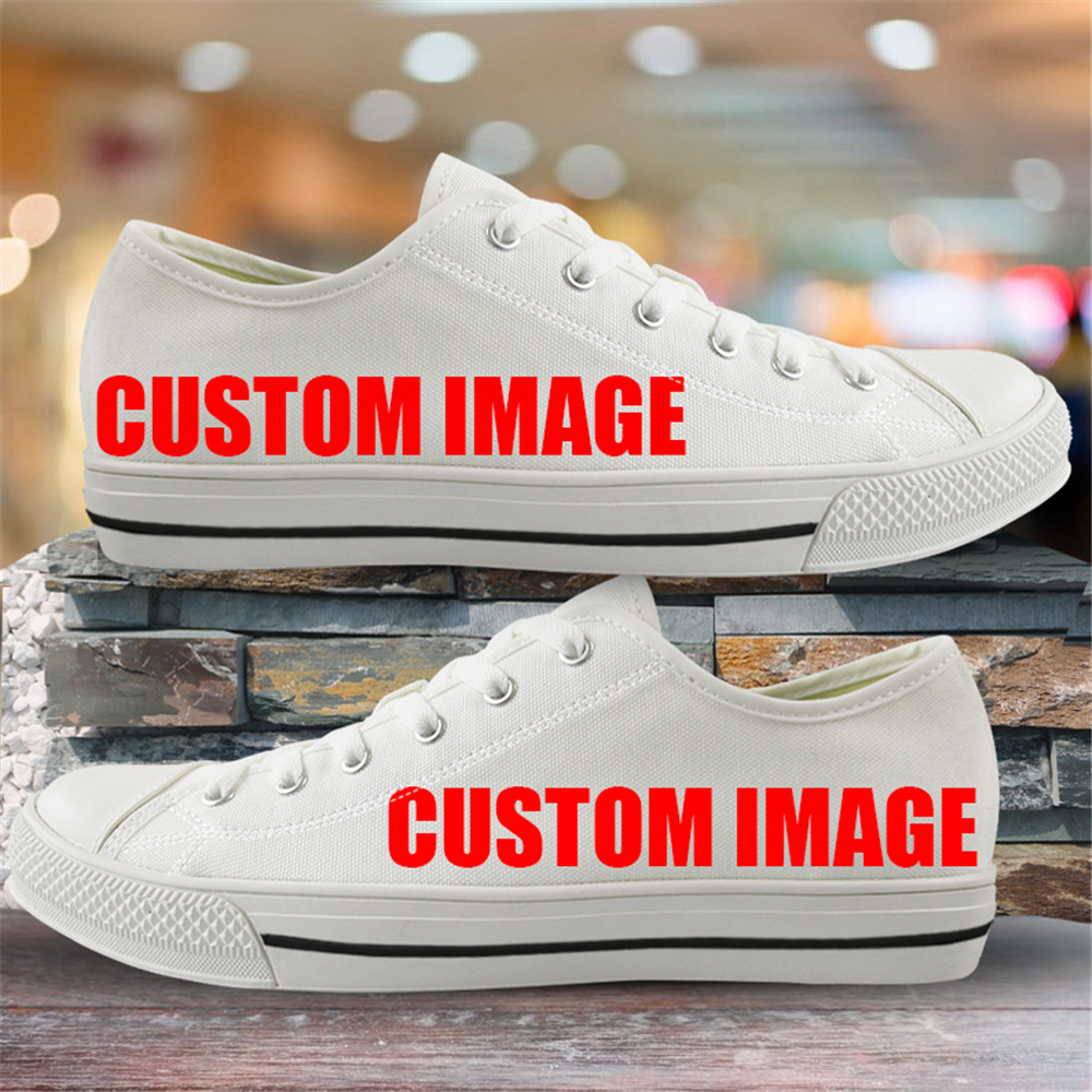 INSTANTARTS Classic Low Top Canvas Shoes Vulcanized Sneakers Colorful Rainbow Print Pride Ladies Flats Shoes Women Zapatillas 8