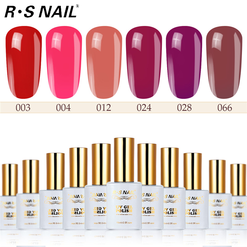 RS Nail 15ml led uv esmalte de uñas de gel de colores color nude color fruta diseño de uñas gel laca manicura vernis semi permanente 8 unids/set de pinceles de Arte de uñas con estampado de cebra, mango de madera, equipo profesional de uñas, bolígrafo, Gel Uv, constructor, pinceles de pintura y dibujo