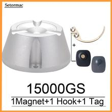 15000GS evrensel manyetik detacher etiketi sökücü mıknatıs 1 parça kanca detacher anahtar detacher eas güvenlik etiketi sökücü 100% çalışma