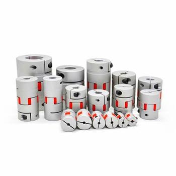 Flexible Plum Shaft Coupling CNC Stepper Motor Coupler D20L25 D20L30 D25L30 D25L35 D30L35 Jaw shaft coupling 5mm 8mm 10mm 1PCS