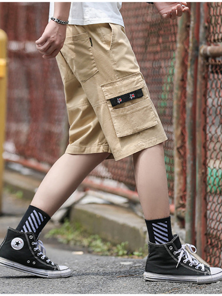 Cargo-Shorts Sweatpants Military Sport Camouflage Summer Mens Cotton Plus-Size 8XL Pantalon