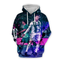 Tessffel Cristiano Ronaldo Athletes Tracksuit 3DfullPrint Hoodie/Sweatshirt/Jacket/shirts Mens Womens hiphop fit casual style-8