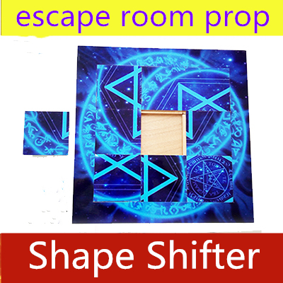 NEW Necessary Props Secret Room Escape Prop Shape Shifter Prop Magic Mobile Puzzle Mechanism Remote Control  9 Block Puzzles