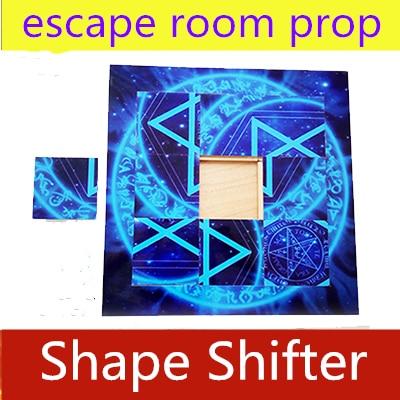 NEW Necessary Props Secret Room Escape Prop Shape Shifter Prop Magic Mobile Puzzle Mechanism Remote Control  9 Block Puzzles