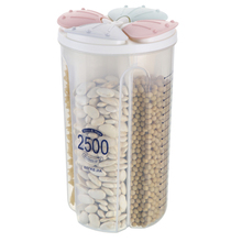 Sealed Storage Box Crisper Grains Food Storage Tank Household Kitchen Containers 4 Color Transparent for Dry Cereal Kitchen Tool