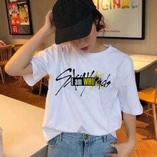 BTFCL Stray Kids Women Unisex Tshirt StrayKids Korean Short Sleeve T Shirt Hip Hop Harajuku Stranger Things Top Tee