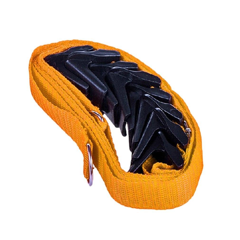Регулируемая безгвоздная высокопрочная дверная задняя вешалка крюк вешалка для одежды двери многоцелевой крюк ремень ремешок - Цвет: Цвет: желтый