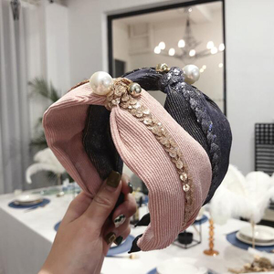 New Fashion Wide Side Headband