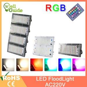 LED Flood Light 50W RGB led