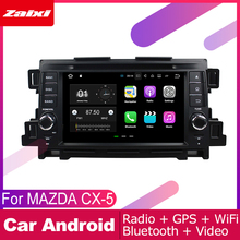 ZaiXi android car dvd gps multimedia player For MAZDA CX-5 2011~2012 car dvd navigation radio video audio player Navi Map