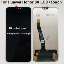 100% Mới Ban Đầu Cho 6.5 Huawei Danh Dự 8X Màn Hình LCD + Bảng Điều Khiển Cảm Ứng Bộ Số Hóa Có Khung JSN L21 JSN L42 JSN AL00 JSN L22