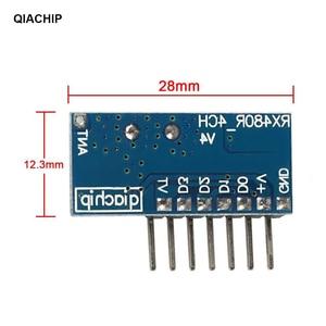 Image 5 - QIACHIP 10 шт., супер гетеродинный модуль приемника 433,92 МГц с декодированием, беспроводной модуль декодирования, дистанционное управление, 1527 обучение