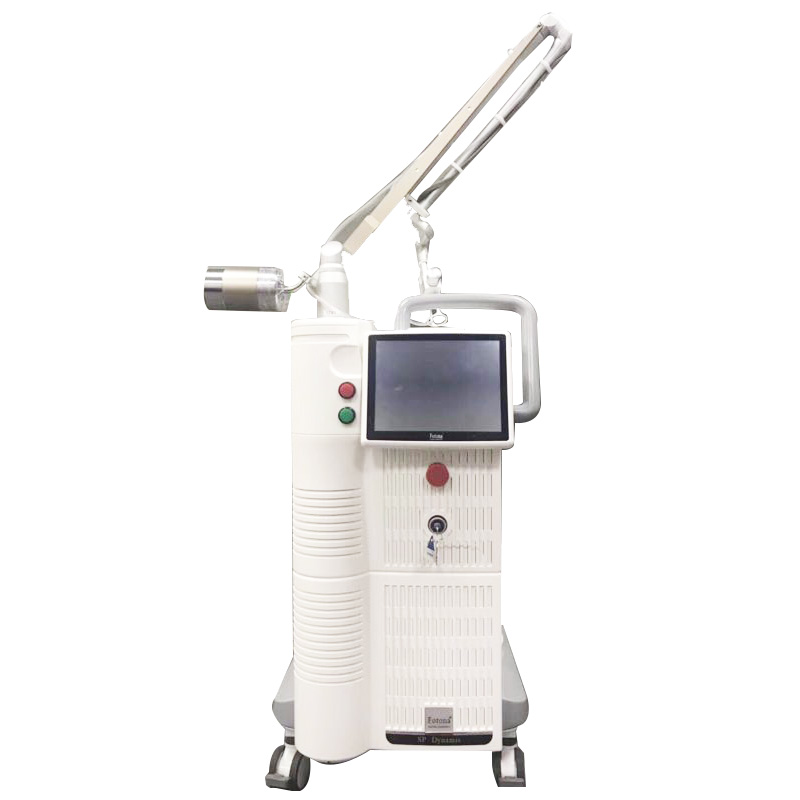 2019 Best Korean Ams Fractional Co2 Laser Machine With Big Display Nd Yag Laser Skin Rejuvenation Machine