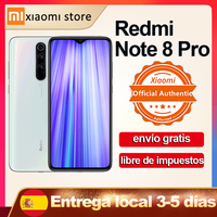 Redmi Note 8 Pro 6GB 64GB versión Global Xiaomi Smartphone NFC 64MP Quad Cámara Helio G90T Octa Core 6,53