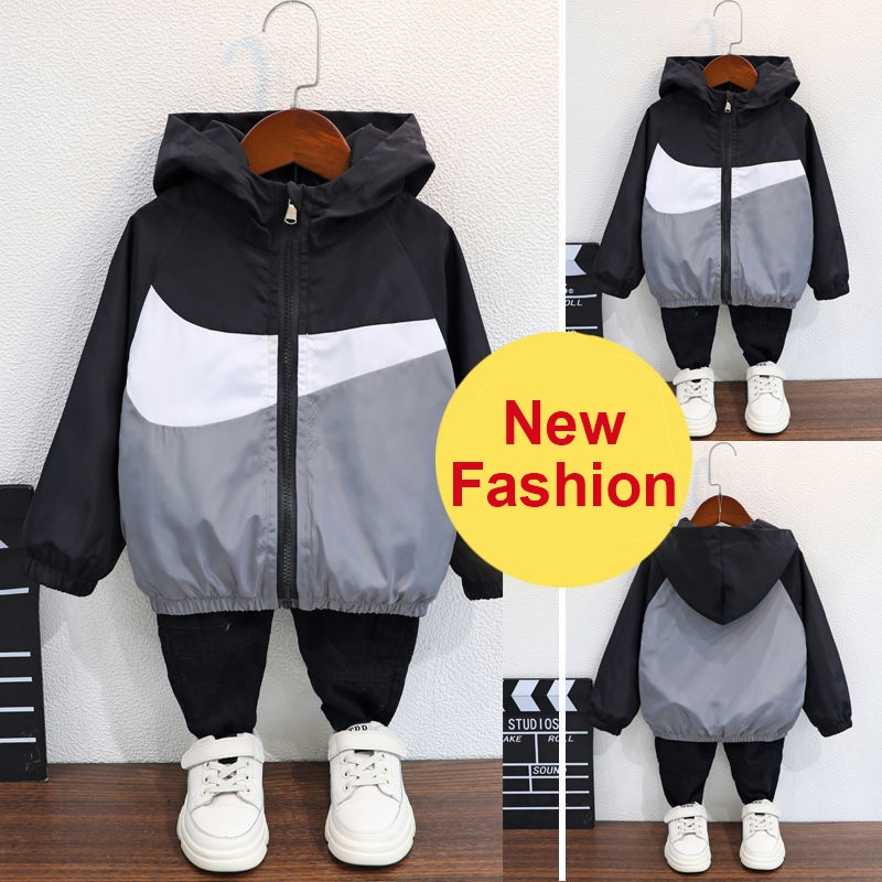 Boys Fleece hooded Jacket,Spring Fall Winter Car Seat Hoodie Outfit 2-10Y