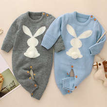 Infant Baby Boys Girls O-neck Rompers Clothes Children