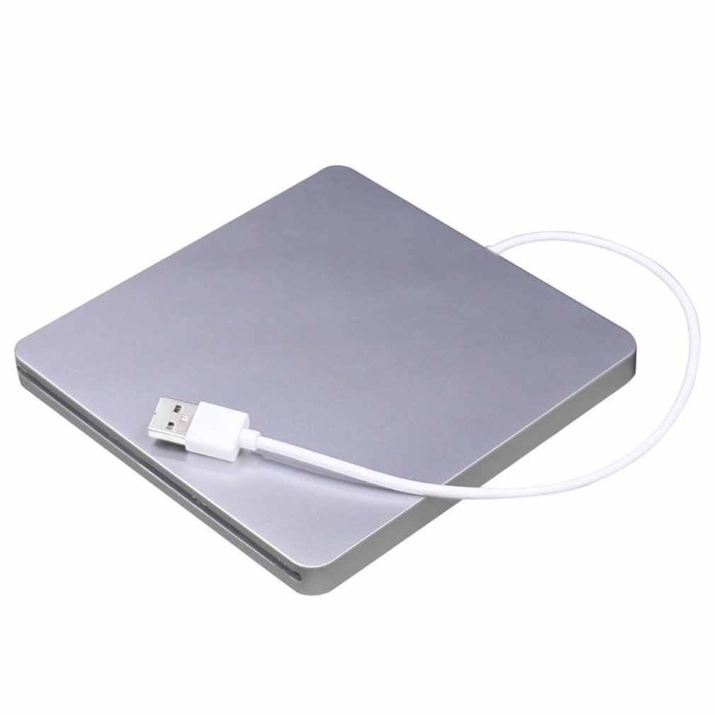 USB Slot Per DVD CD Esterno RW Burner Super Slim Drive Mobile Esterno DVD Drive Per Apple Per Mac book pro Air