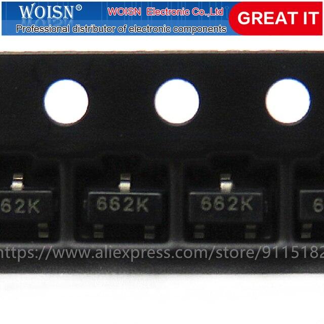 1000PCS XC6206P332MR XC6206P332 SOT23 SOT23-3 XC6206 SMD(662K) 3,3 V/0,5 EINE Positiv, Fest LDO Spannung Auf Lager