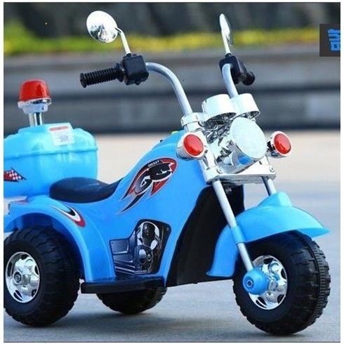 CHILDREN'S Electric Motor 1-3-5-Year-Old Who Can Sit Electric Tricycle Charging Pedal CHILDREN'S Toy Car