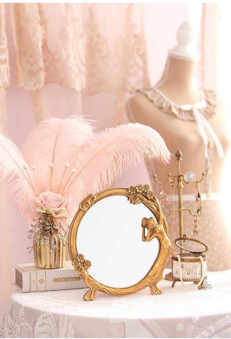 maquiagem espelho penteadeira presente personalidade criativa espelho