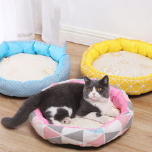 Gel-Padded Mattress-Sponge Sofa Pet-Accessories Cooling Puppy Cat-House Sleeping-Bed