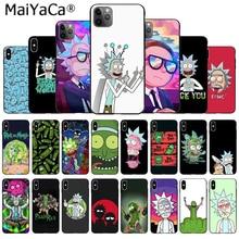 MaiYaCa Мягкий ТПУ силиконовый роскошный телефон мультфильм мариновка Рик и Морти для Apple iPhone11 pro 7 8 66S Plus X XS MAX 55S SE XR
