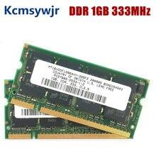 Ddr 1gb pc2700s ddr 333 mhz 200pin sodimm memória do portátil 1g 200-pin SO-DIMM ram ddr1 computador portátil notebook memória